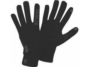 Lehké sportovní rukavice DUG314 DARE2B Cogent Černé