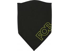 Snowboardový šátek BANU101 4F GŁEBOKA Černý