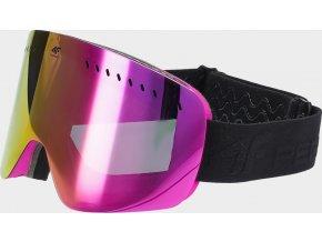 Dámské lyžařské brýle 4F GGD150 Růžové