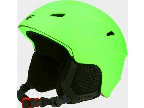 Pánská lyžařská helma 4F KSM350 SOCZYSTA Zelená