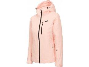 Dámská lyžařská bunda 4F KUDN300 Růžová
