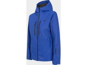 Dámská lyžařská bunda  4F KUDN301 Modrá