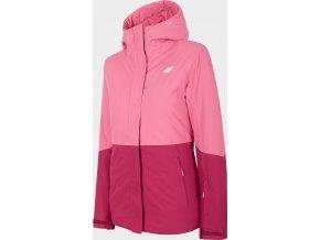 Dámská lyžařská bunda 4F KUDN302  Růžová