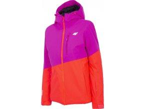 Dámská lyžařská bunda 4F KUDN303 Růžová_08