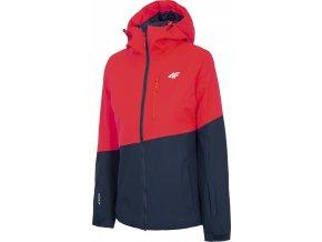 Dámská lyžařská bunda 4F KUDN303 Červená
