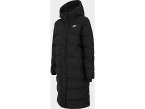 Dámský péřový kabát 4F KUDP205 Černý