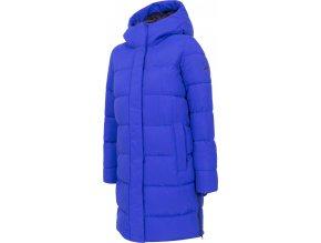 Dámský péřový kabát 4F KUDP206 modrý