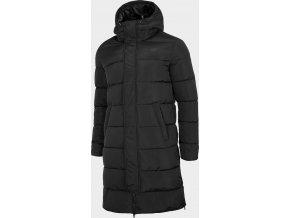 Pánský péřový kabát 4F KUMP200R Černý