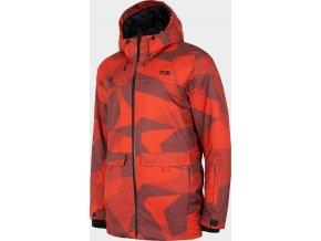 Pánská snowboardová bunda 4F KUMS256 Červená