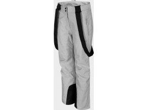 97538 damske lyzarske kalhoty 4f spdn300 chlodny svetle sede