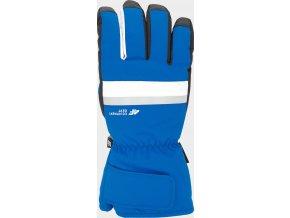 97589 panske lyzarske rukavice 4f rem350 modre