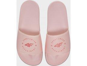 Dámské pantofle 4F KLD202 Růžové