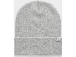 Dámská zimní čepice 4F CAD301 Šedá