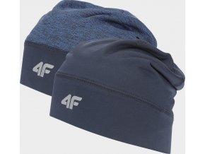 Funkční oboustraná čepice 4F CAF205 Modrá