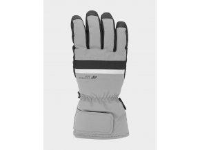 Pánské lyžařské rukavice 4F  REM350 Šedé