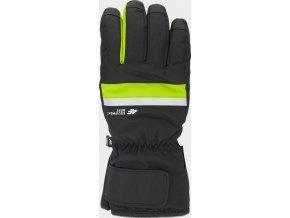 Pánské lyžařské rukavice 4F REM350 Zelené