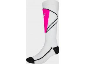 Dámské lyžařské ponožky 4F SODN200 Bílé