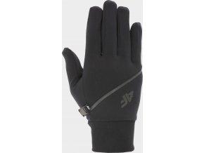 Běžecké rukavice 4F  REU211 Černé