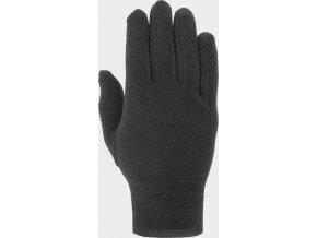 Fleecové rukavice 4F REU302 Černé