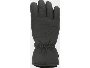 Dámské lyžařské rukavice 4F RED350 Černé