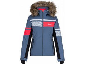 Dámská lyžařská bunda KILPI ANIELA-W Modrá
