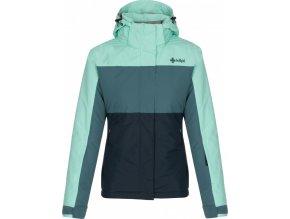 Dámská lyžařská bunda MILS-W Modrá (NADMĚRNÁ VELIKOST)