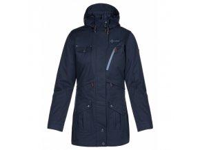 Dámský zimní kabát KILPI BRASIL-W Modrá (NADMĚRNÁ VELIKOST) 20