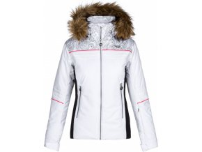 Dámská lyžařská bunda HENESIE-W Bílá
