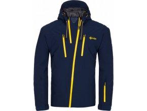 Pánska lyžařská bunda KILPI THAL-M Modrá