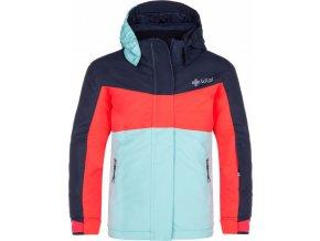 Dívčí lyžařská bunda  MILS-JG Růžová