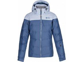 Dámská péřová lyžařská bunda KILPI  BUFFY-W Modrá