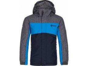 Chlapecká lyžařská bunda  KILPI OBER-JB Modrá