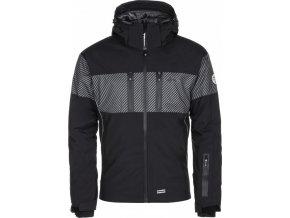 Pánská lyžařská bunda KILPI SATTL-M Černá