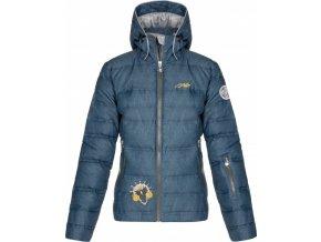 Dámská péřová lyžařská bunda KILPI  MAILA-W Modrá