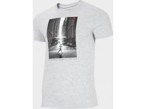 Pánské tričko 4F TSM257 Šedé
