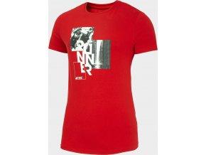 Pánské tričko 4F  TSM259 Červené