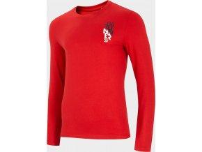 Pánské tričko 4F TSML206 Červené