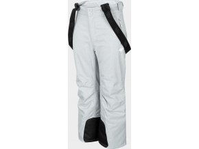 Dětské lyžařské kalhoty 4F JSPDN401 Šedé