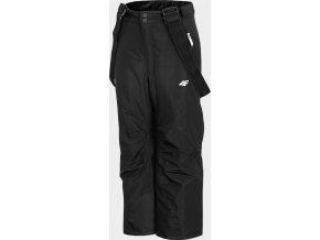 Dětské lyžařské kalhoty JSPMN400 Černé