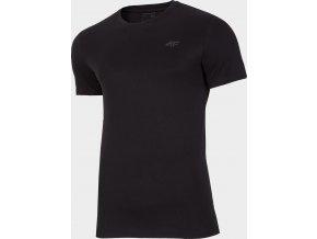 Pánské bavlněné tričko 4F TSM300 Černé