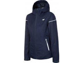Dámská lyžařská bunda 4F KUDN070 Tmavě modrá