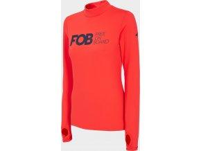 Dámské termo tričko 4F BIDD200 Červené