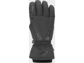 Dámské lyžařské rukavice 4F RED352 Černé