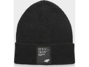 Pánská čepice 4F CAM062 Černá