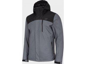 Pánská lyžařská bunda 4F KUMN002 Černá