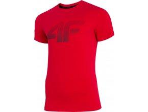 Pánské tričko 4F TSM071 Červené