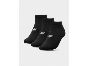 Dámské ponožky 4F SOD302 Černé (3 páry)