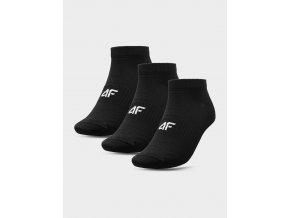 Pánské kotníkové ponožky 4F SOM301 Černé (3 páry)