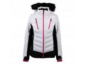 Dámská lyžařská bunda 4F KUDN010 Bílá 2