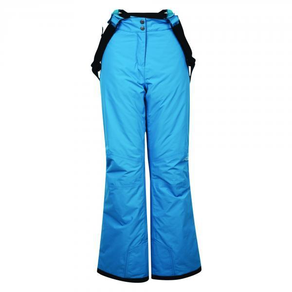 Dámské lyžařské kalhoty Dare2B DWW305 ATTRACT Blu Barva: Modrá, Velikost: 34